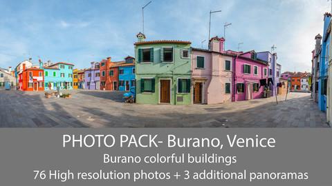 Venice- Burano Photo Pack