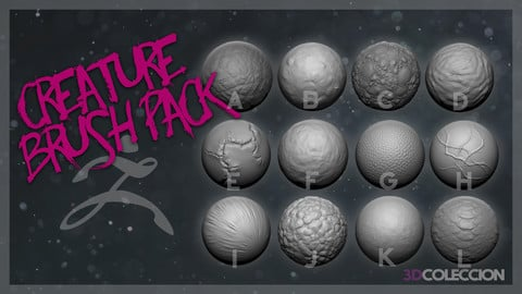 12 Brushes Creature Skin Pack!