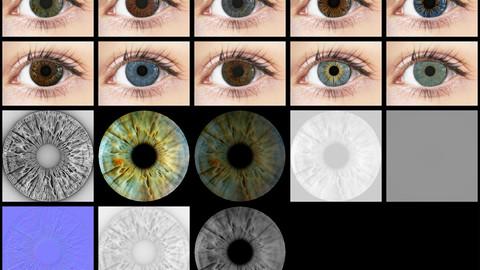 Eye Iris Vol 03 - PBR