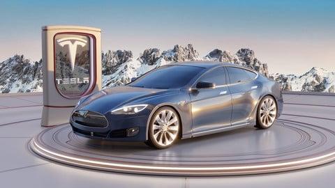 Tesla Model S (3D model)