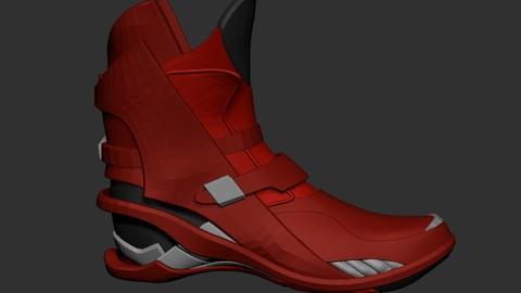 Sky-Fi Shoes Basemesh