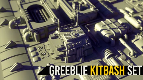 Greeblie Kitbash Set #1