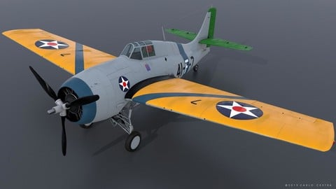 GRUMMAN F4F-3 WILDCAT VF41 - 41F7