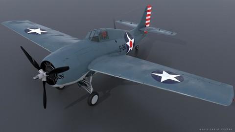 GRUMMAN F4F-3 WILDCAT F26