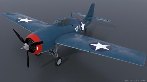 GRUMMAN F4F-3 WILDCAT MF1