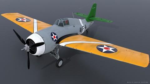 GRUMMAN F4F-3 WILDCAT 41F4