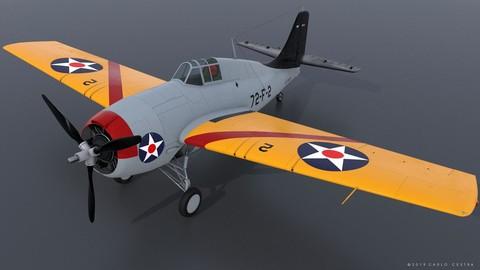 GRUMMAN F4F-3 WILDCAT 72F2