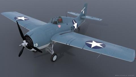 GRUMMAN F4F-3 WILDCAT 13