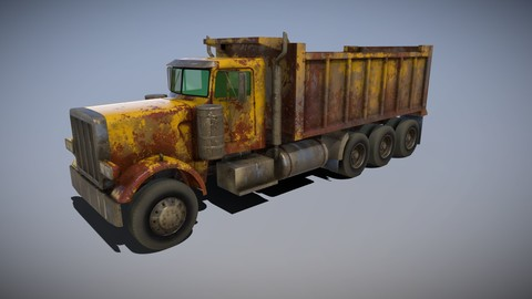 Tri Axle American Dump Truck