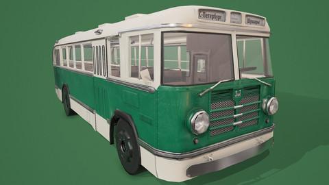 ZIL-158 (LowPoly 56k)