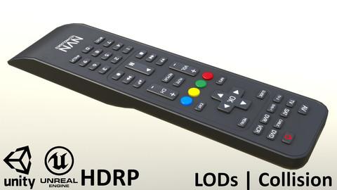 2000s TV Remote Control Black