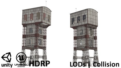 KWK Polska I Coal Mine Shaft Tower