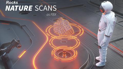 Nature Scans - Rocks as FBX