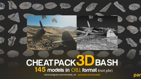 CHEATPACK_3DBASH_SAND_DIRT_GROUND