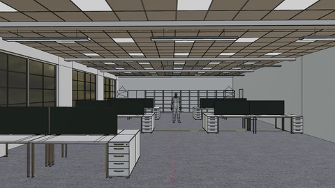 Office Space Interior 3