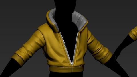 stylized jacket1 basemesh