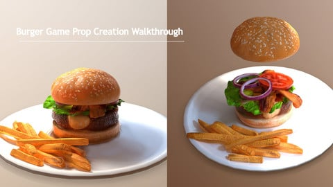 Burger Game Prop Creation Walkthrough