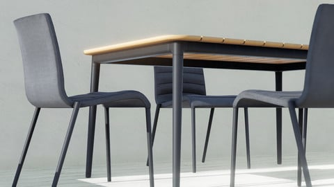 Table and Chair 01 / Furniture / 3D model