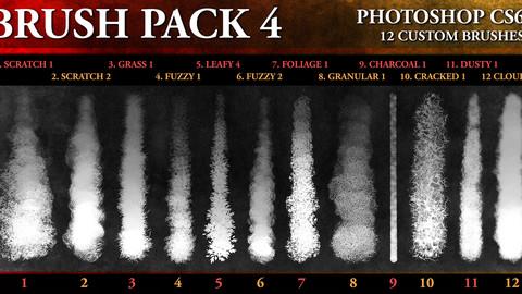 SHIDOOK BRUSH PACK 4 (Photoshop CS6+)