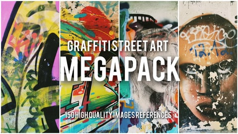 Street Graffiti MEGAPACK references