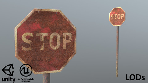 Stop Sign Rusty