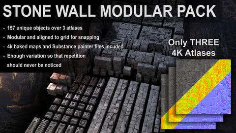 Stone Wall Modular Pack