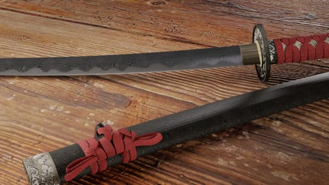 Katana and Sheath