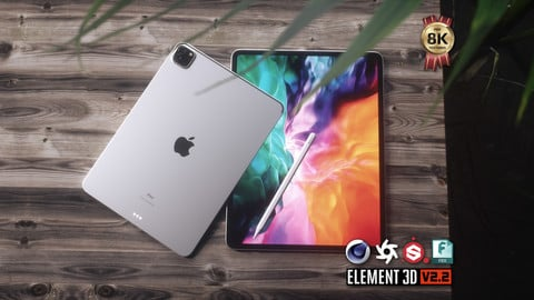 iPad Pro 2020 3D Model
