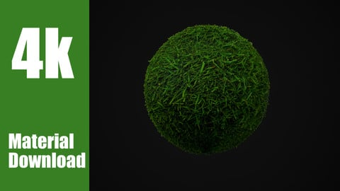 Realistic Grass Material - PhotoScan