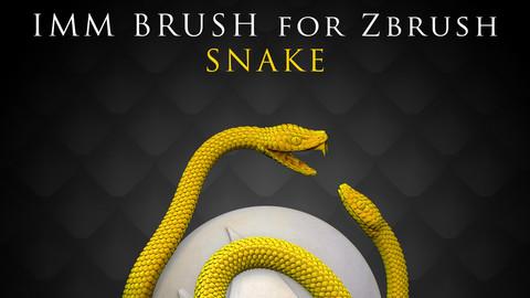 IMM Brush «Snake» for Zbrush