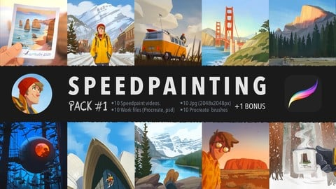 Speedpainting Pack #1