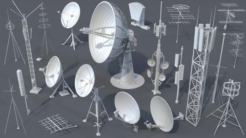 Antennas - 21 pieces - part -3