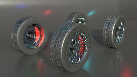 Magnesium Alloy Racing Wheels