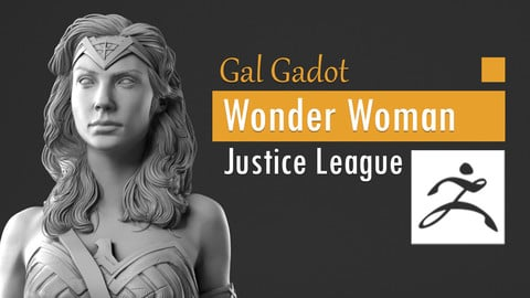 Gal Gadot - Wonder Woman - Justice League