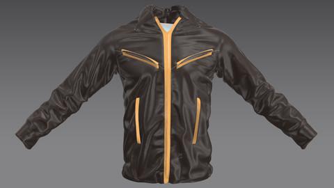 Jacket pilot Male Marvelous Designer Resource