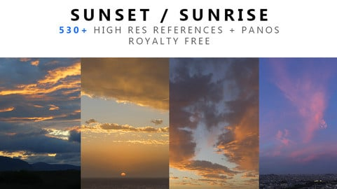 Sunset Sunrise Texture PACK