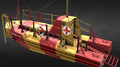 Air Sea Rescue Craft ASR 10 World War II