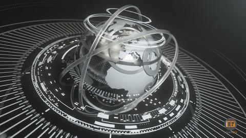 Globe animation set