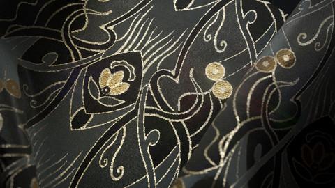 Art Nouveau Fabric