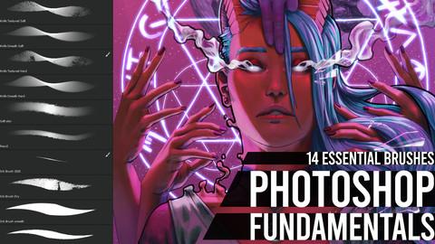 Photoshop Fundamentals Brush Set