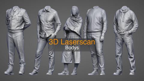 3D Lascerscan Bodys
