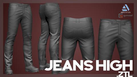 Jeans High .ZTL