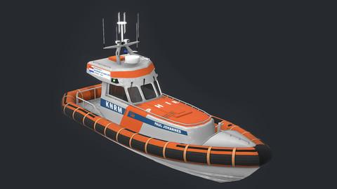 KNRM Valentijn Class - 3D Model
