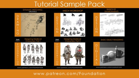 Tutorial Sample Pack - Foundation Art Group
