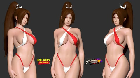 Mai in bikini