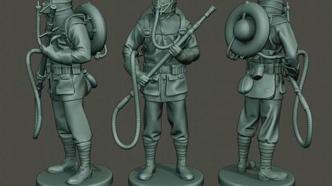 German soldier ww1 stand G5