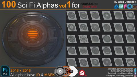 Sci Fi Alphas Vol 1