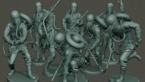 German soldiers ww1 G5 Pack 1
