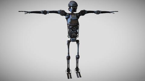 """""""Scrapey"""" The Dangerous Industrial Work Robot"""