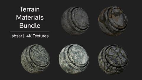 Terrain materials Bundle